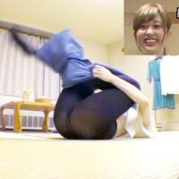 菊地亜美の黒タイツから透けて見えたのはTバックなのか!?